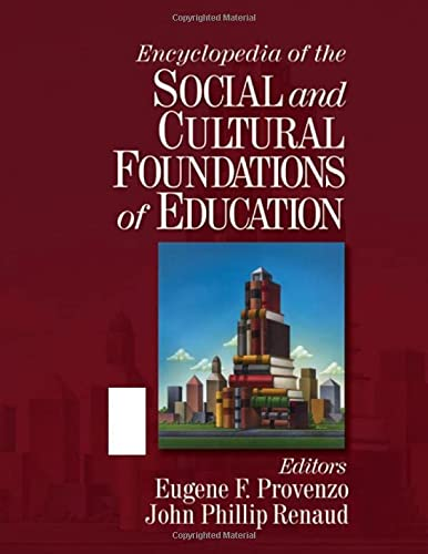 9781412906784: Encyclopedia of the Social and Cultural Foundations of Education