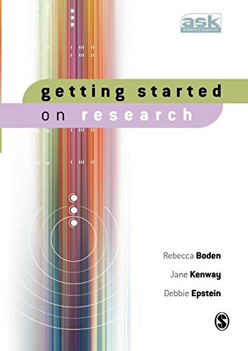 9781412906968: Getting Started on Research (The Academic′s Support Kit)