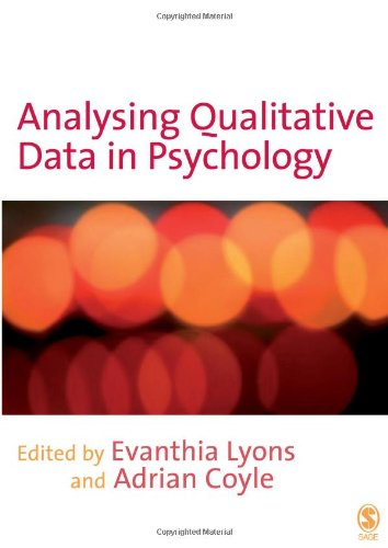 9781412907828: Analysing Qualitative Data in Psychology