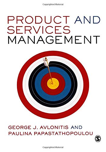 Product and Services Management: Avlonitis, George J;