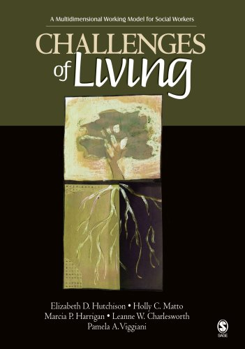 9781412908993: Challenges of Living: A Multidimensional Working Model for Social Workers