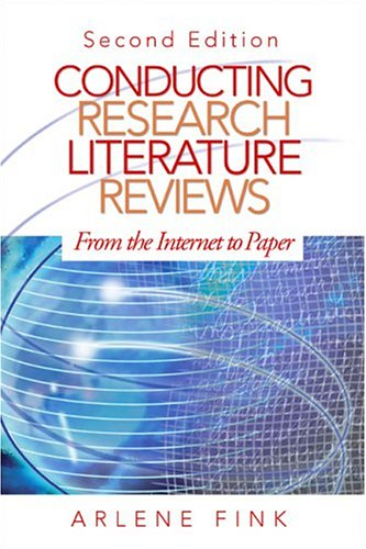 Conducting Research Literature Reviews: From the Internet: Arlene Fink