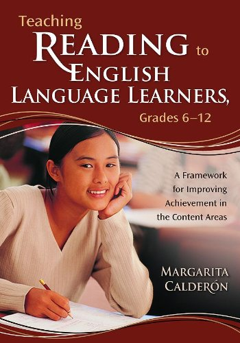 9781412909259: Teaching Reading to English Language Learners, Grades 6-12: A Framework for Improving Achievement in the Content Areas