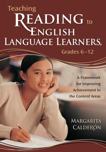9781412909266: Teaching Reading to English Language Learners, Grades 6-12: A Framework for Improving Achievement in the Content Areas