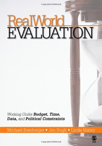 9781412909464: RealWorld Evaluation: Working Under Budget, Time, Data, and Political Constraints