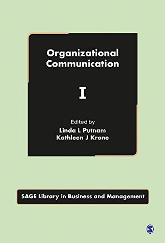 9781412910453: Organizational Communication (SAGE Library in Business and Management)