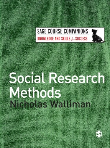 9781412910620: Social Research Methods (SAGE Course Companions series)