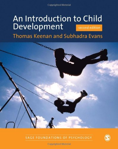9781412911146: An Introduction to Child Development (SAGE Foundations of Psychology series)