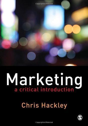 9781412911481: Marketing: A Critical Introduction