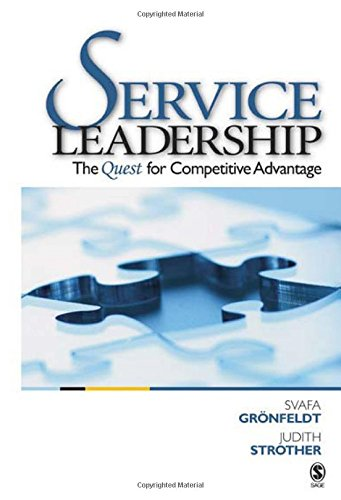 9781412913744: Service Leadership: The Quest for Competitive Advantage