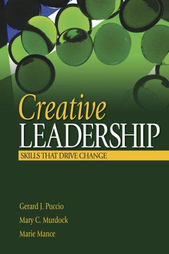 9781412913799: Creative Leadership: Skills That Drive Change