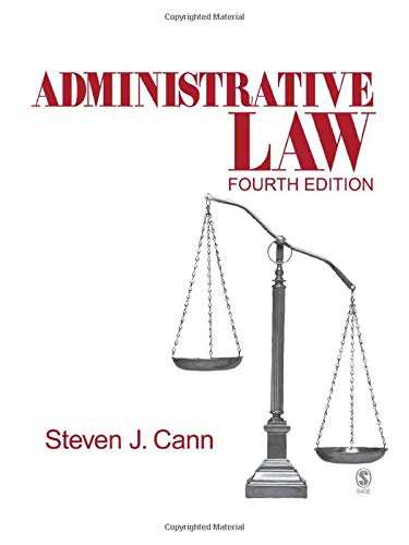 9781412913966: Administrative Law (Administrative Law (Sage Publications))