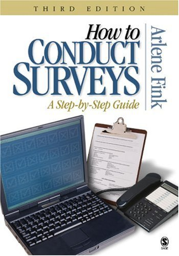 9781412914239: How to Conduct Surveys: A Step-by-Step Guide