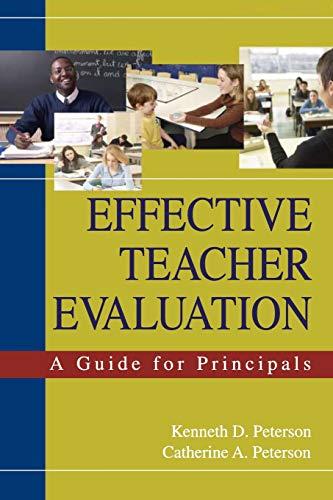 9781412914833: Effective Teacher Evaluation: A Guide for Principals