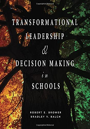 9781412914864: Transformational Leadership & Decision Making in Schools