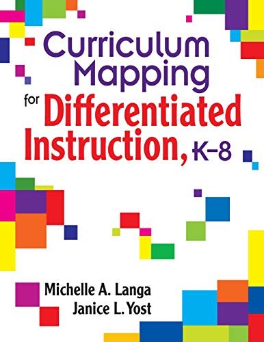 Curriculum Mapping for Differentiated Instruction, K-8: Langa, Michelle A.,