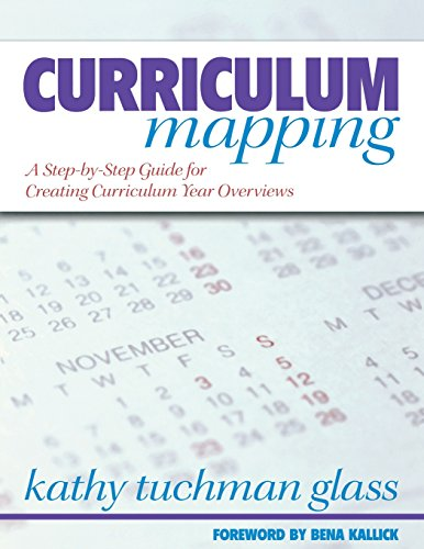 Curriculum Mapping : A Step-by-Step Guide for: Kathy Tuchman Glass