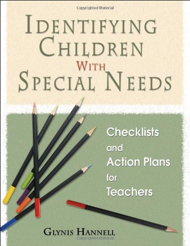9781412915953: Identifying Children With Special Needs: Checklists and Action Plans for Teachers