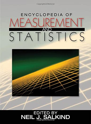 9781412916110: Encyclopedia of Measurement and Statistics 3-Volume Set