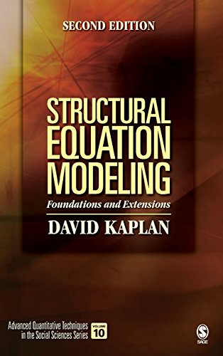 9781412916240: Structural Equation Modeling: Foundations and Extensions (Advanced Quantitative Techniques in the Social Sciences series)
