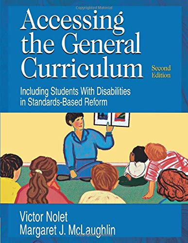9781412916493: Accessing the General Curriculum: Including Students With Disabilities in Standards-Based Reform