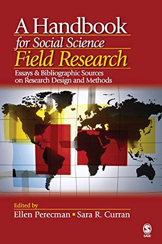 9781412916813: A Handbook for Social Science Field Research: Essays & Bibliographic Sources on Research Design and Methods