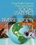 Social Statistics for a Diverse Society: Dr. Chava Frankfort-Nachmias;