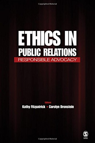 9781412917971: Ethics in Public Relations: Responsible Advocacy