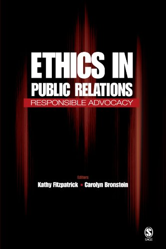 9781412917988: Ethics in Public Relations: Responsible Advocacy