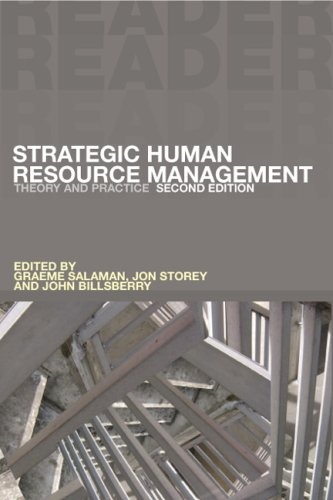 9781412919005: Strategic Human Resource Management: Theory And Practice