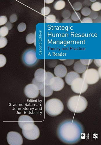 9781412919012: Strategic Human Resource Management: Theory And Practice
