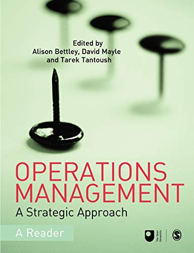 9781412919036: Operations Management: A Strategic Approach (Published in association with The Open University)