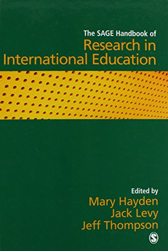 9781412919715: The SAGE Handbook of Research in International Education