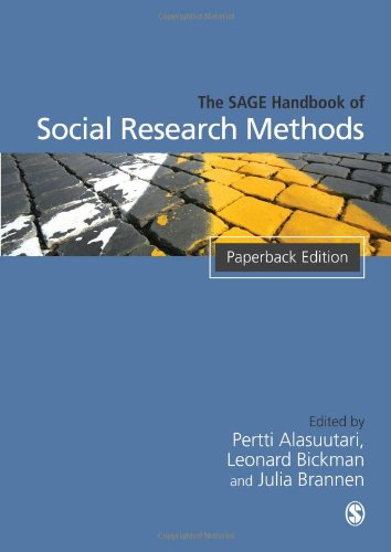 9781412919920: The SAGE Handbook of Social Research Methods: 0