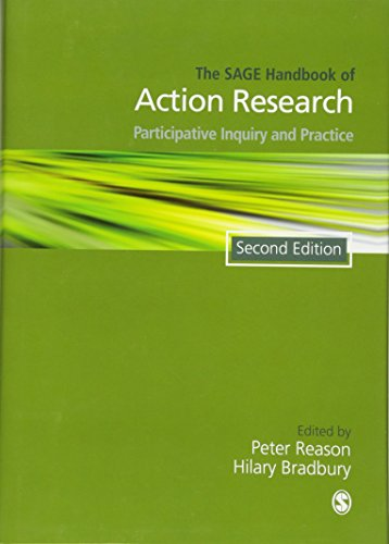 9781412920292: The Sage Handbook of Action Research: Participative Inquiry and Practice