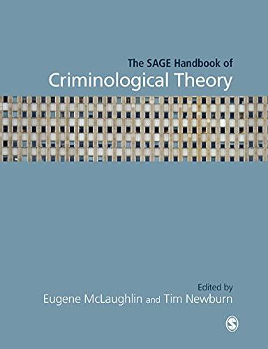 9781412920384: The SAGE Handbook of Criminological Theory