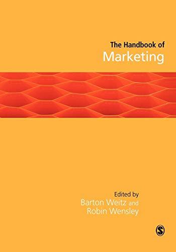 9781412921206: Handbook of Marketing