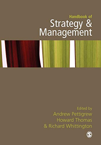 9781412921213: Handbook of Strategy and Management