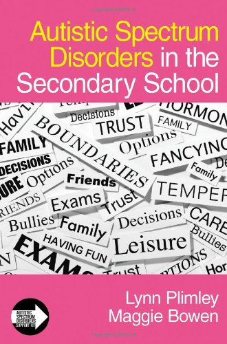 9781412923101: Autistic Spectrum Disorders in the Secondary School (Autistic Spectrum Disorder Support Kit)