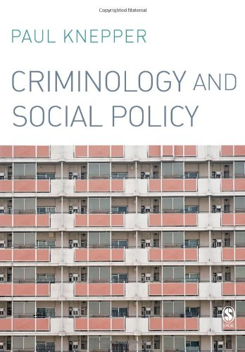 9781412923385: Criminology and Social Policy