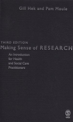 9781412923613: Making Sense of Research: An Introduction for Health and Social Care Practitioners