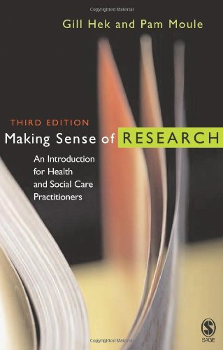 9781412923620: Making Sense of Research: An Introduction for Health and Social Care Practitioners