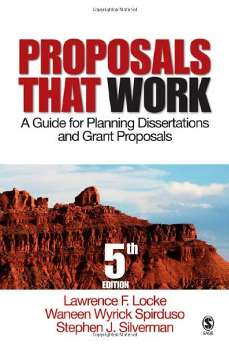 Proposals That Work: A Guide for Planning: Lawrence F. Locke,