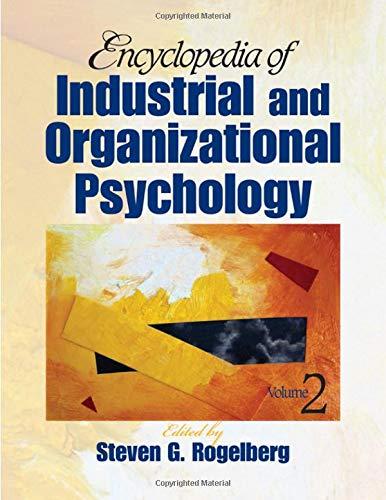 9781412924702: Encyclopedia of Industrial and Organizational Psychology (2 volume set)