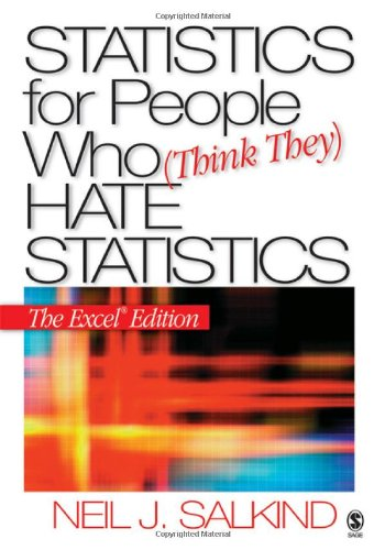 9781412924825: Statistics for People Who (Think They) Hate Statistics: The Excel Edition