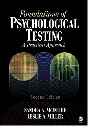 9781412924849: Foundations of Psychological Testing: A Practical Approach