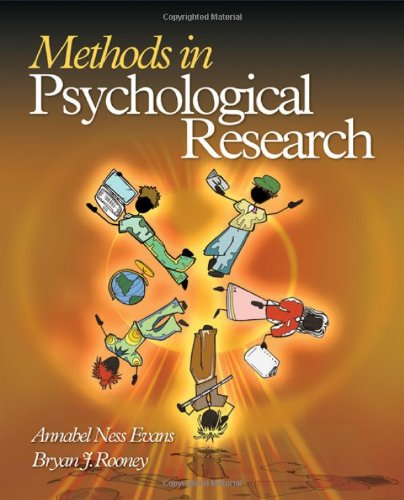 9781412924856: Methods in Psychological Research