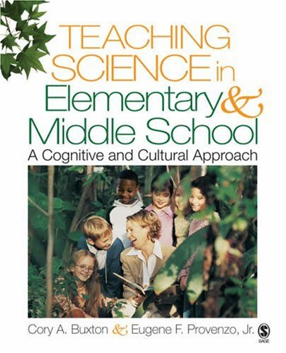 9781412924979: Teaching Science in Elementary and Middle School: A Cognitive and Cultural Approach