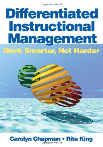 9781412925013: Differentiated Instructional Management: Work Smarter, Not Harder