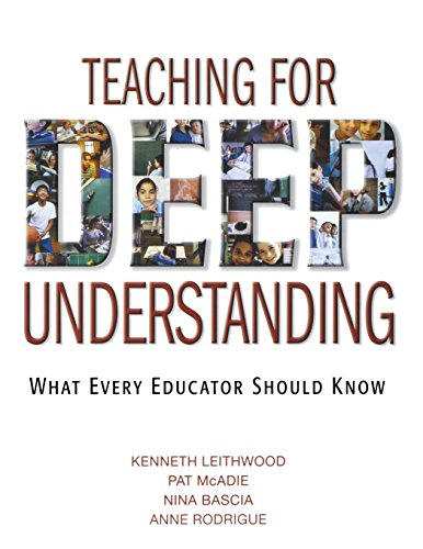 9781412926966: Teaching for Deep Understanding: What Every Educator Should Know